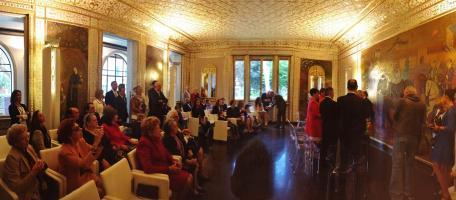 Un matrimonio celebrato in Villa (foto d'archivio)